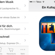 gratis Download Tetris über Apple Store-App