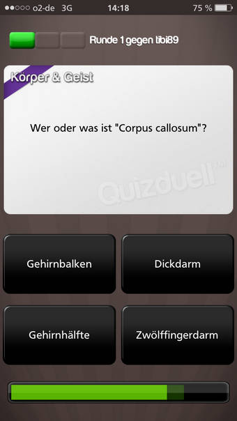Quizduell Frage