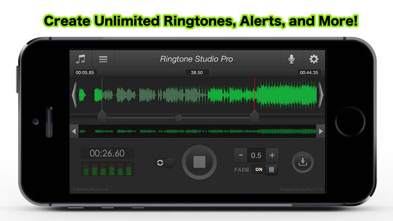 Ringtone Studio Pro Screen