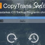 CopyTrans Shelbee - iOS Backup