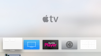 Ordner Folder Apple TV