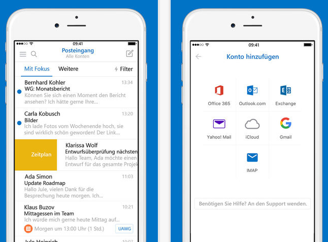 iphone mail not updating 3d touch update der microsoft outlook app 15323
