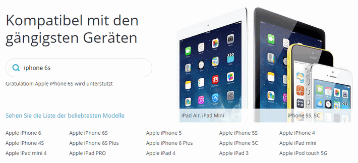 Alle Apple Devices