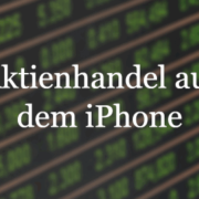 aktienhandel am iphone